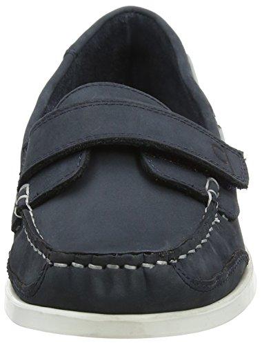 Damen Navy Schwarz Bootsschuhe Blau Helena Chatham Size One p0wtpaqd