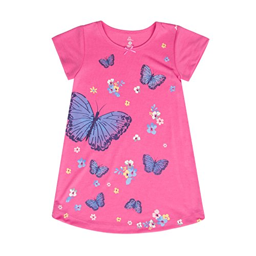 Petit Lem Girls Little Nightgown, Comfortable, Cute and Cozy Softness