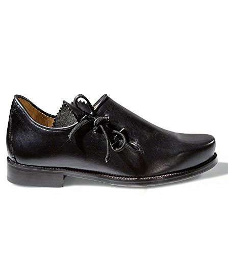 Stocker Punkt Try Sko Brogues 1290 Nappa Sort, 43