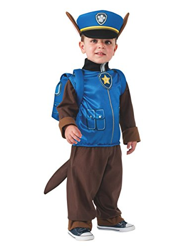 Rubie's Costume Toddler PAW Patrol Chase Child Costume, One Color, Small ()