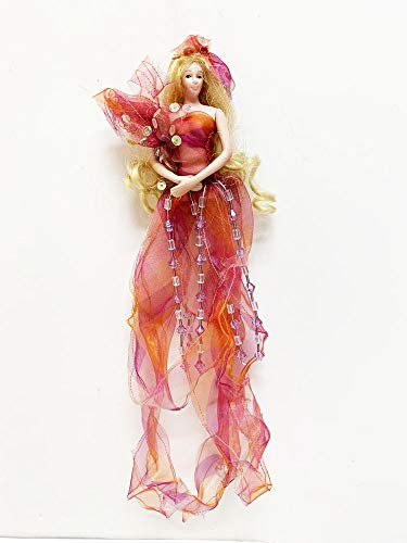 Sheer Fantasy Show Stoppers Hanging Porcelain Doll for sale  Delivered anywhere in USA