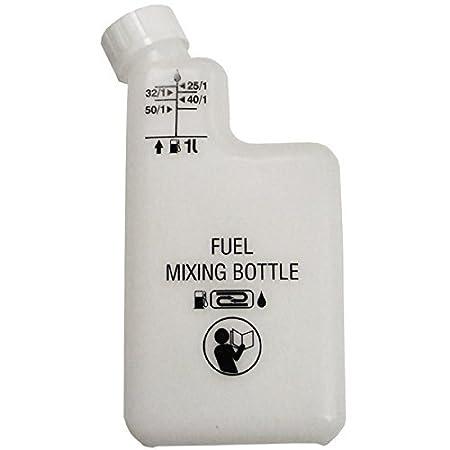 Spares2go 1L combustible mezcla botella: Amazon.es: Hogar