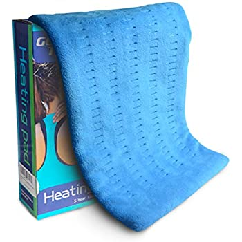 Heating Pad Fast-Heating Technology for Back/Waist/Abdomen/Shoulder/Neck Pain and Cramps Relief - Moist and Dry Heat Therapy with Auto-Off Hot Heated Pad by GOQOTOMO-HF-B