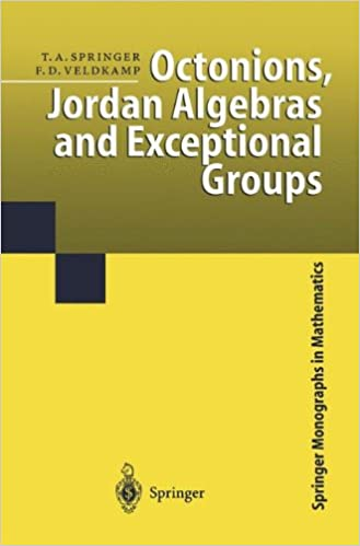 Octonions jordan algebras and exceptional groups springer octonions jordan algebras and exceptional groups springer monographs in mathematics 2000th edition fandeluxe