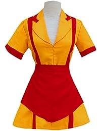Women Waitress Uniform Cosplay Fancy Dress Party Costume