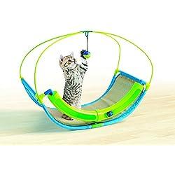 Pet Parade Cat Ball Swing - Playtime Rocking Toy
