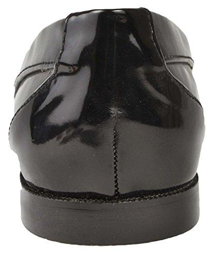 Nero Lora Patent Dora Womens Taglia Tassel Mocassini 3 8 Uk Black pzRqwPfp