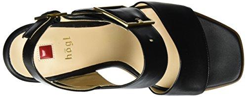 Högl Dames 3-10 7840 0100 Slingback Zwart (schwarz0100)