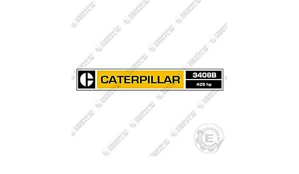 Caterpillar 3406B Diesel Engine Decal Kit 425