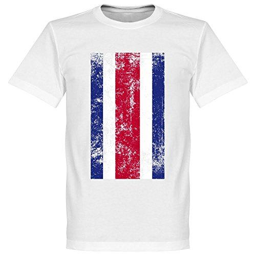 Costa Rica Flag Fußball T-Shirt