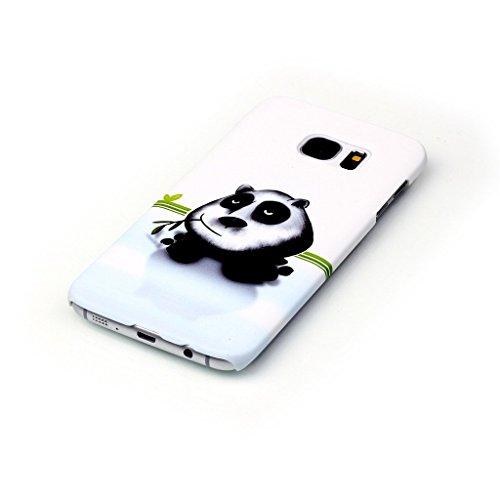 PowerQ Multi buntes Muster Serie Hart Kunststoff Plastic Fall Case Hülle < Panda | für IPhone6SPlus IPhone 6SPlus 6Plus IPhone6Plus >            mit schönen hübschen Muster-Druck Detailzeichnung Handytasche Hand