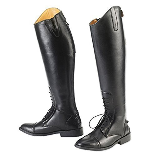 Equistar - Ladies' Field Boot (All-Weather) 8.5 Wide Black