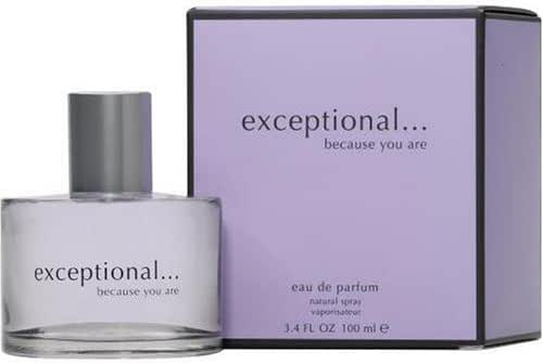 Exceptional-because You Are By Exceptional Parfums For Women. Eau De Parfum Spray 3.4 oz