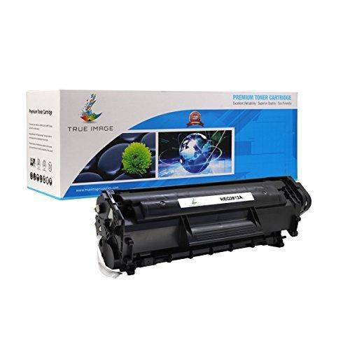 TRUE IMAGE Compatible HP 12A Q2612A Toner Cartridge (Black, 1 Pack)