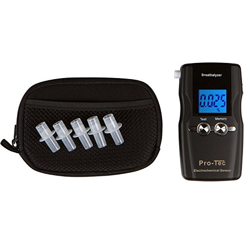 Pro-Tec X2000 breathalyzer | Portable Professional Grade Blood Alcohol screening Device | DOT and NHSTA Approved FDA 510(k) Cleared | Breath Meter by Pro-Tec Breathalyzers (Image #3)