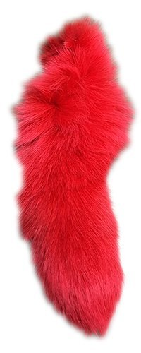 AuSable Brand Ruby Red Dyed Fox - Red Fox Dyed Fur