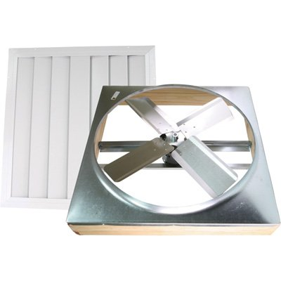 Ventamatic Whole House Fan - 30in., Direct-Drive, Model# (Direct Drive Whole House Fan)