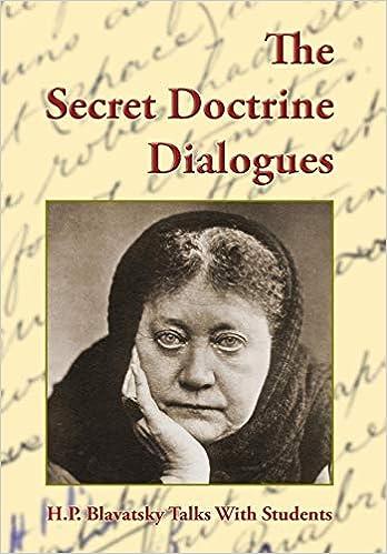 The Secret Doctrine Dialogues:The Unpublished 1889 Manuscript