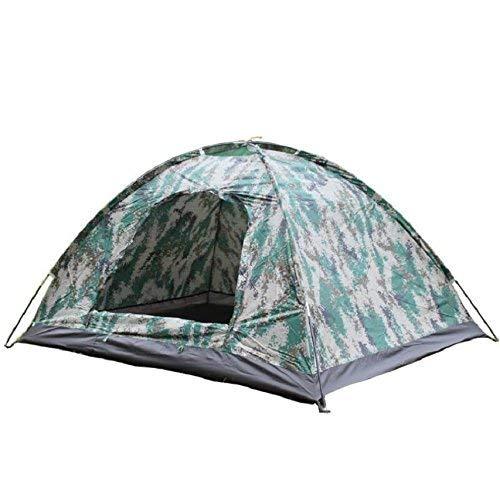 JIE Guo Outdoor Produkte 2 Personen Verwenden Camouflage Zelte, Outdoor Camping Camping Zelte, Wasserdichte Oxford Tuch Wasserdichte Sonnencreme, Komfortable Zelte