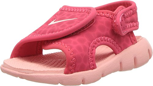 NIKE Sunray Adjust 4 (TD) Baby-Boys Slippers 386521-608_6C - Tropical Pink/Bleached Coral - Image 9