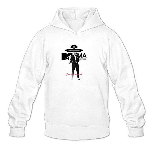 QK Justin Timberlake 2 Men's Sport Hooded Sweatshirt M - Timberlake Justin Nerd