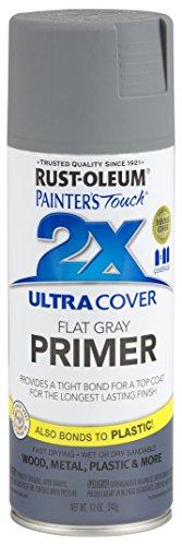 Rust-Oleum 249088-6 PK Painter's Touch 2X Ultra Cover, 12 oz, Gray Primer