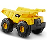 CatToysOfficial Dump Truck Toy Construction Vehicle, Yellow