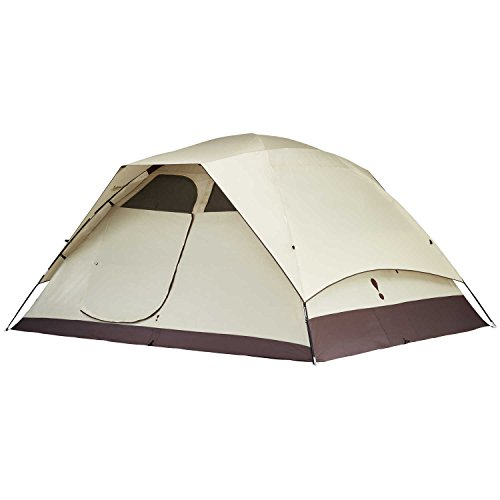 Eureka! Tetragon HD 8-Person, 3-Season Waterproof Camping Tent, Java/Cement (18 Pounds 14 ()