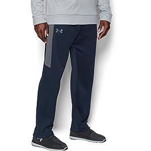 Under Armour 1299129 Mens Fleece Lightweight Pants,Midnight Navy/Graphite, Medium