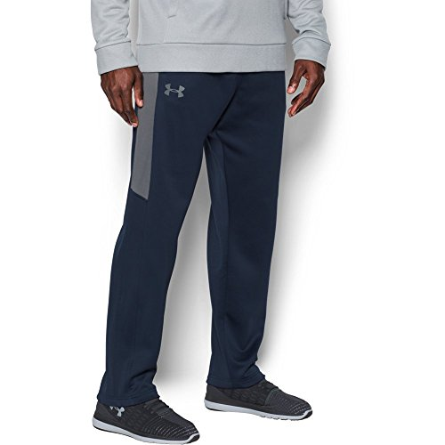Under Armour Mens Armour Fleece Lightweight Pants,Midnight Navy/Graphite, (20 Fleece Pants)