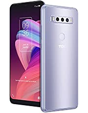 """$127 » TCL 10 SE Unlocked Android Smartphone, 6.52"""" V-Notch Display, US Version Cell Phone with 16 MP Rear AI Triple-Camera 4GB RAM + 64GB ROM, 4000mAh Fast Charging Battery, ICY Silver"""