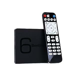 TV Box Android 7.1 6K Player - Beelink GS1 Smart TV Box RAM 2GB ROM 16GB Allwinner H6 Quad-core H.265 HDMI USB BT4.0 1000Mpbs/LAN 2.4G+5.8G WiFi for Home Entertainment