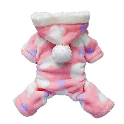 FAPIZI Pet Puppy Dog Cat Clothes Hoodie Coat Jumpsuit Costume Apparel (L) (Cat Dog Halloween)