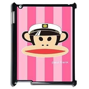 DIY Paul Frank Plastic Case for iPad 2,iPad 3,iPad 4, Custom Paul Frank Ipad 3 Shell Case, Personalized Paul Frank iPad 2 Cover Case