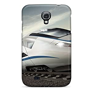 Galaxy S4 Case Slim [ultra Fit] Amazing Train Protective Case Cover