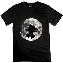 Jiaso Men's Dragon Ball T-shirt Small