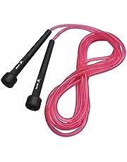 Corda de Pular Muvin Basics Tamanho Ajustável em PVC - Corda de Saltos Com Velocidade Para Treino Funcional - Exercícios - Crossfit - Academia - Tamanho Máximo 3,15 Metros - Várias Cores