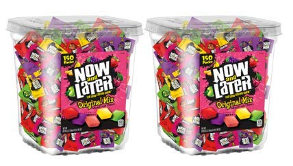 Now & Later Original Taffy Chews Candy, Assorted, 150 Count Chews, 90 Ounce Jar (Pack of 2) by Now and Later (Image #2)