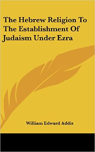 The Hebrew Religion To The Est...