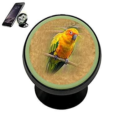 KAKA Bracket Sun Conure parrot Magnetic Phone Car Mount Holder Universal 360 Rotation Stand Metal Mobile Phone