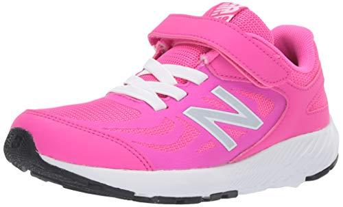 New Balance Girls' YT519PN Running Shoe, Peony, 11M