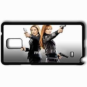 Personalized Samsung Note 4 Cell phone Case/Cover Skin Anna torv olivia dunham fringe actress gun ari graynor rachel dunham TV Series Black