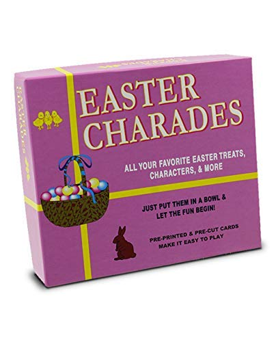 (Easter Charades | The Original Easter Charades Game Perfect for Your Easter Party Games. Makes a Great Easter Basket Stuffer. Features Popular Easter Figures Such As The Easter Bunny and More! )