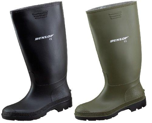 Dunlop - Botas de trabajo (goma, impermeables) negro
