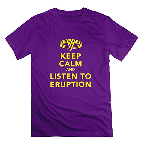 ajlna-mens-keep-calm-and-listen-eruption-t-shirt-small-purple