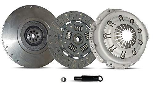 Clutch Kit With Flywheel works with Ford Mustang Base Lujo Coupe Convertible 2005-2010 4.0L V6 GAS SOHC Naturally Aspirated