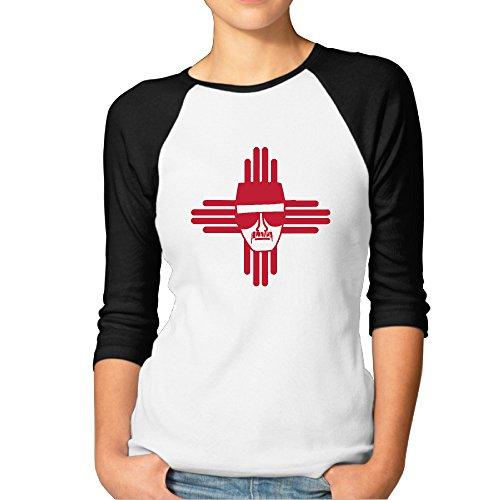 Women Heisenberg Zia Symbol New Mexico Baseball Jerseys Raglan Shirts