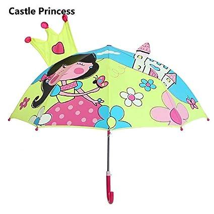 Lindo Paraguas para Niños Lindo No Automático Paraguas De ...