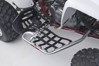 Nerf Bars Raptor 350 - DG Performance 60-4390 - Alloy Series Nerf Bar - Aluminum fits Yamaha Raptor 350 (2004 - 2012)
