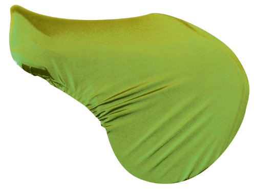 Perri's Lycra Saddle Cover, Lime Green, One Size